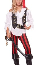 Children's Costume Posh Pirate Large