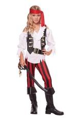 Children's Costume Posh Pirate Large