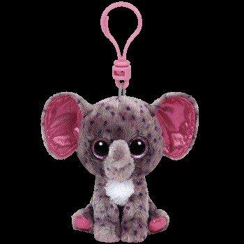 Beanie Boos Elephant Specks Keychain