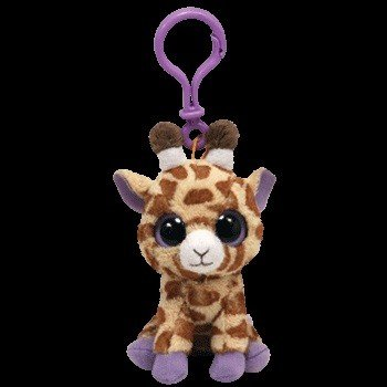 Beanie Boos Giraffe Safari Keychain