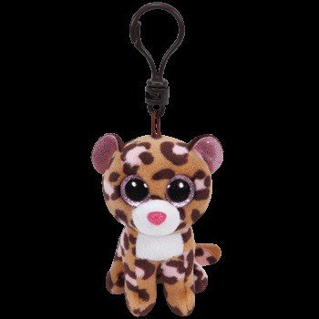 Beanie Boos Leopard Patches Keychain