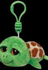 Beanie Boos Turtle Zippy Keychain