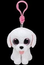 Beanie Boos Poodle Pippie Keychain