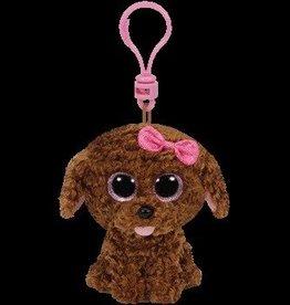 Beanie Boos Dog Maddie Keychain