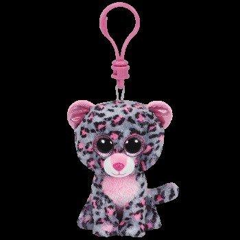 Beanie Boos Leopard Tasha Keychain