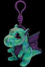 Beanie Boos Dragon Cinder Keychain