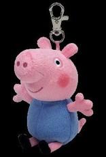 Beanie Boos Peppa Pig George Keychain