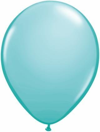 "36"" Balloon Caribbean Blue Flat"