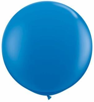"36"" Balloon Dark Blue Flat"