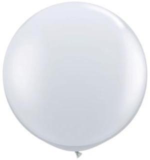"""36"""" Balloon Diamond Clear Flat"""