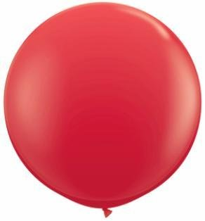 "36"" Balloons Red Flat"