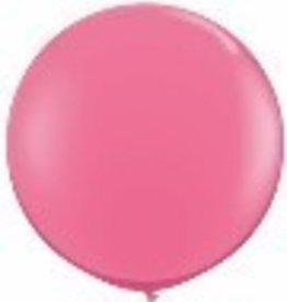 "36"" Balloon Rose Flat"