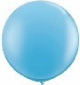 "36"" Balloon Pale Blue Flat"