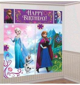Disney Frozen Scene Setters Wall Decorating Kit