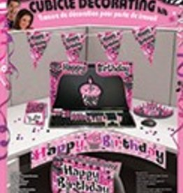 Birthday Cubical Decoration Set Pink