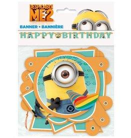 Despicable Me Happy Birthday Banner
