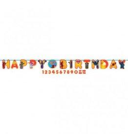Sesame Street Happy Birthday Add-An-Age Banner