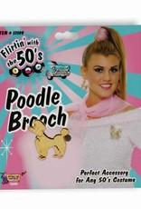 50's Poodle Brooch