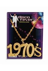Disco Fever 1970s Necklace