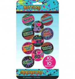 Buttons 80's