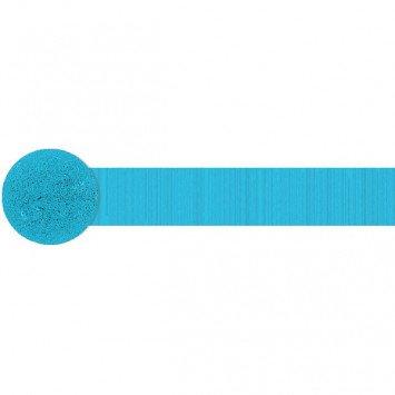 Caribbean Blue Crepe Streamer 81'