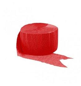 Apple Red Crepe Streamer 81'