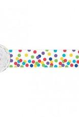 Dots Multicolour Crepe Streamer 81'
