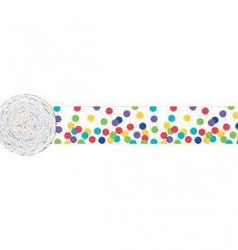 Dots Multi Crepe Streamer 81'