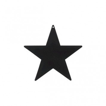 Black Packaged Foil Mini Stars