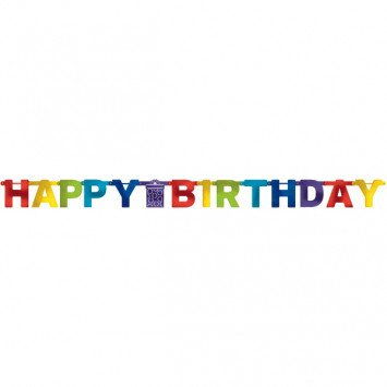 Bright Birthday Banner
