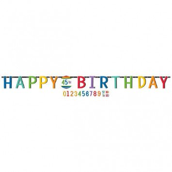 Banner Personalized Happy Birthday