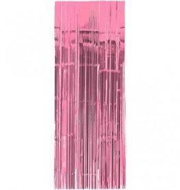 Metallic Door Curtain New Pink