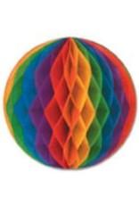 """19"""" Art-Tissue Ball Rainbow"""