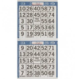 Bingo Game Sheets 125ct