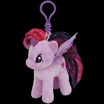 Beanie Boos Twilight Sparkle Keychain