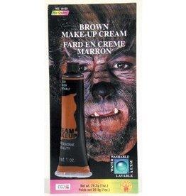 Brown Cream Makeup Tube
