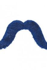 Blue Moustache