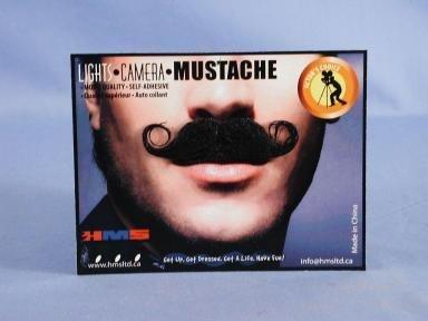 Barbershop Black Moustache