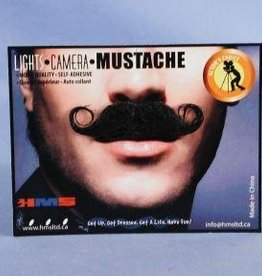 Barbershop Moustache Grey