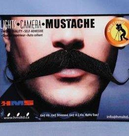 Aristocrat Moustache Grey