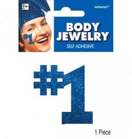Blue #1 Body Jewelry