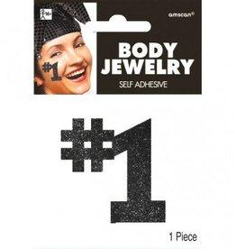 Black #1 Body Jewelry