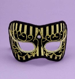 Best Ever Gold Stripe Mask