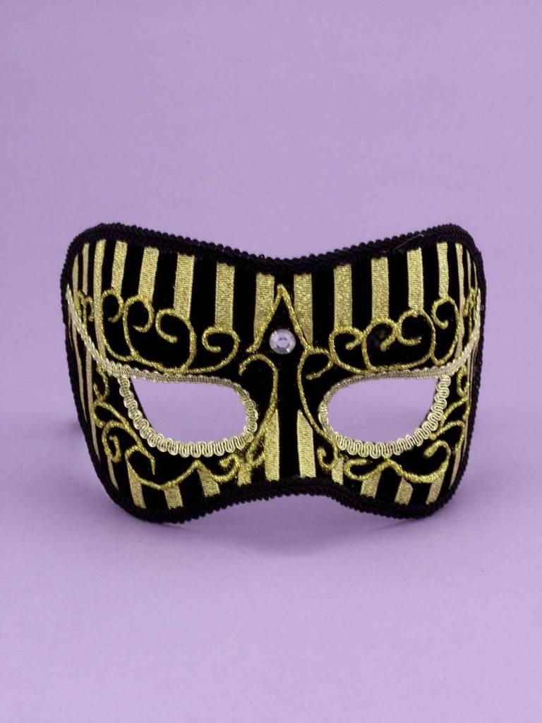 Best Ever Gold Stripe Mask
