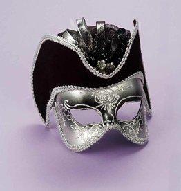 Silver Pirate Mask