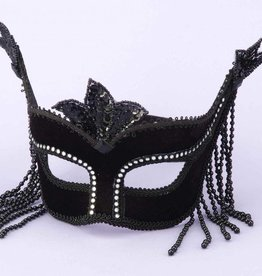 Black W/Stones Mask