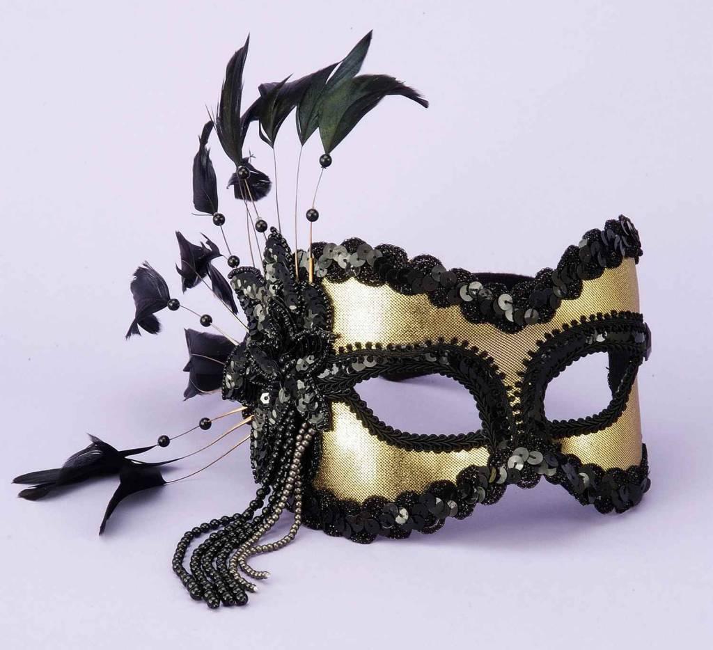 Black/Gold Mask