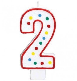 Amscan #2 Numeral Candle