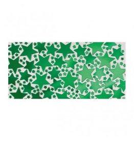 Green Metallic Star Confetti