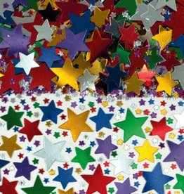 Multi Metallic Star Confetti